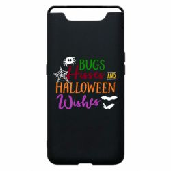 Чохол для Samsung A80 Bugs Hisses and Halloween Wishes