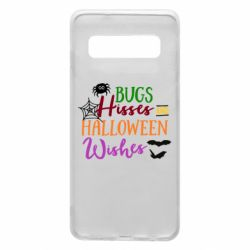 Чохол для Samsung S10 Bugs Hisses and Halloween Wishes