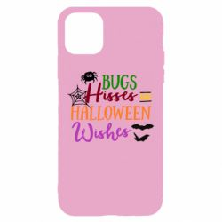 Чохол для iPhone 11 Bugs Hisses and Halloween Wishes