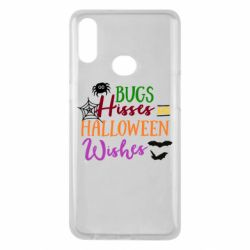 Чохол для Samsung A10s Bugs Hisses and Halloween Wishes