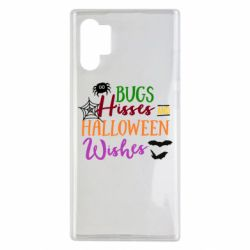 Чохол для Samsung Note 10 Plus Bugs Hisses and Halloween Wishes