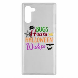Чохол для Samsung Note 10 Bugs Hisses and Halloween Wishes