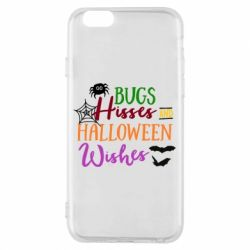 Чохол для iPhone 6/6S Bugs Hisses and Halloween Wishes