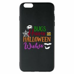 Чохол для iPhone 6 Plus/6S Plus Bugs Hisses and Halloween Wishes
