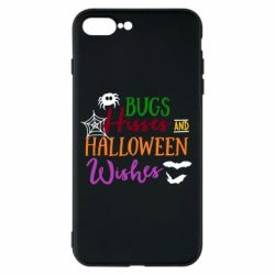 Чохол для iPhone 7 Plus Bugs Hisses and Halloween Wishes