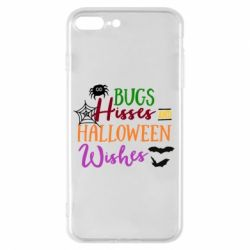 Чохол для iPhone 8 Plus Bugs Hisses and Halloween Wishes