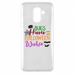 Чохол для Samsung A6+ 2018 Bugs Hisses and Halloween Wishes
