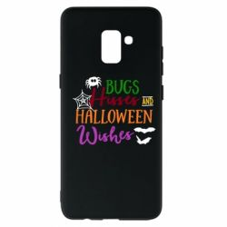 Чохол для Samsung A8+ 2018 Bugs Hisses and Halloween Wishes
