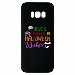 Чохол для Samsung S8 Bugs Hisses and Halloween Wishes