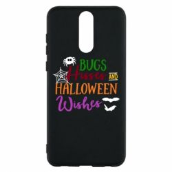 Чехол для Huawei Mate 10 Lite Bugs Hisses and Halloween Wishes - FatLine