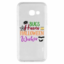 Чохол для Samsung A3 2017 Bugs Hisses and Halloween Wishes
