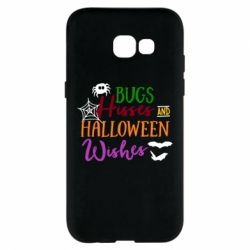 Чехол для Samsung A5 2017 Bugs Hisses and Halloween Wishes - FatLine