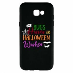 Чехол для Samsung A7 2017 Bugs Hisses and Halloween Wishes - FatLine