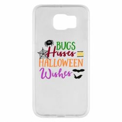 Чохол для Samsung S6 Bugs Hisses and Halloween Wishes