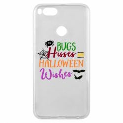Чехол для Xiaomi Mi A1 Bugs Hisses and Halloween Wishes - FatLine