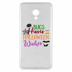 Чехол для Meizu M5 Bugs Hisses and Halloween Wishes - FatLine