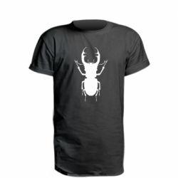 Удлиненная футболка Bugs silhouette