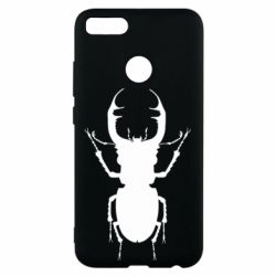Чехол для Xiaomi Mi A1 Bugs silhouette