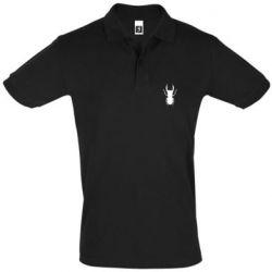 Мужская футболка поло Bugs silhouette