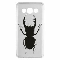 Чехол для Samsung A3 2015 Bugs silhouette