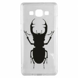 Чехол для Samsung A5 2015 Bugs silhouette