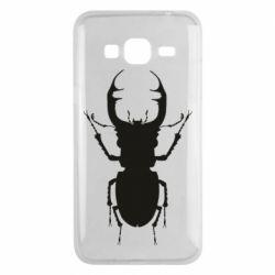 Чехол для Samsung J3 2016 Bugs silhouette