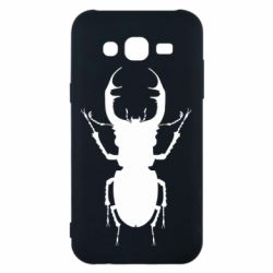 Чехол для Samsung J5 2015 Bugs silhouette