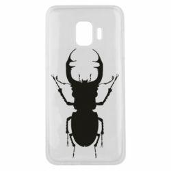 Чехол для Samsung J2 Core Bugs silhouette