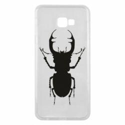 Чехол для Samsung J4 Plus 2018 Bugs silhouette