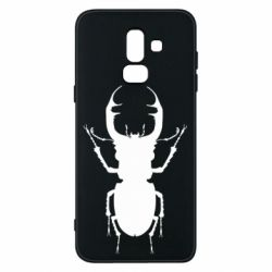 Чехол для Samsung J8 2018 Bugs silhouette