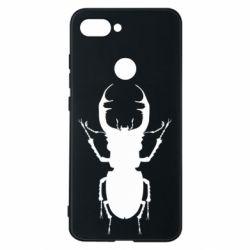 Чехол для Xiaomi Mi8 Lite Bugs silhouette