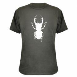 Камуфляжная футболка Bugs silhouette