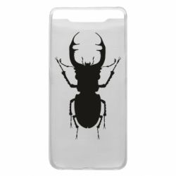 Чехол для Samsung A80 Bugs silhouette