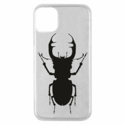 Чехол для iPhone 11 Pro Bugs silhouette