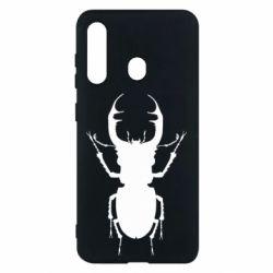 Чехол для Samsung M40 Bugs silhouette