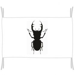 Флаг Bugs silhouette