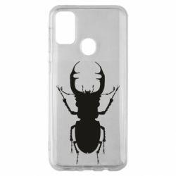 Чехол для Samsung M30s Bugs silhouette