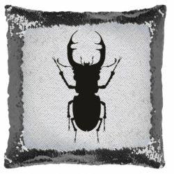 Подушка-хамелеон Bugs silhouette