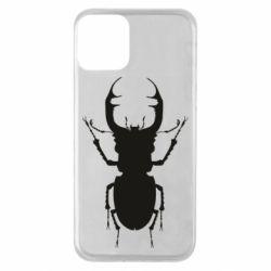 Чехол для iPhone 11 Bugs silhouette