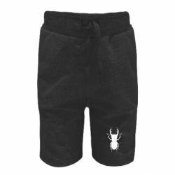 Детские шорты Bugs silhouette