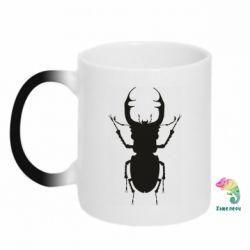 Кружка-хамелеон Bugs silhouette