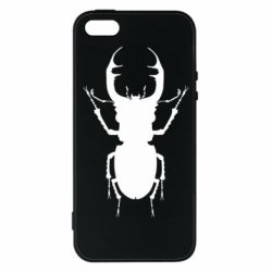 Чехол для iPhone5/5S/SE Bugs silhouette