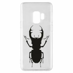 Чехол для Samsung S9 Bugs silhouette