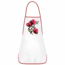 Фартук Буква Е с розами