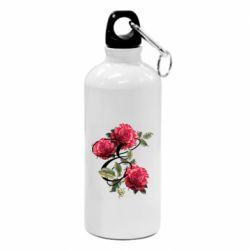 Фляга Буква Е с розами