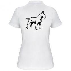 Женская футболка поло Бульерьер - FatLine