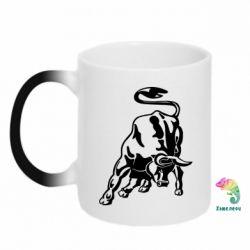 Кружка-хамелеон Bull