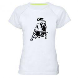 Жіноча спортивна футболка Bull