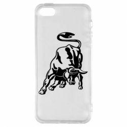 Чохол для iphone 5/5S/SE Bull