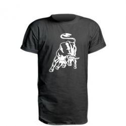 Подовжена футболка Bull